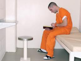 Inmate reading