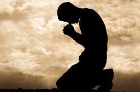 Prayer on knees