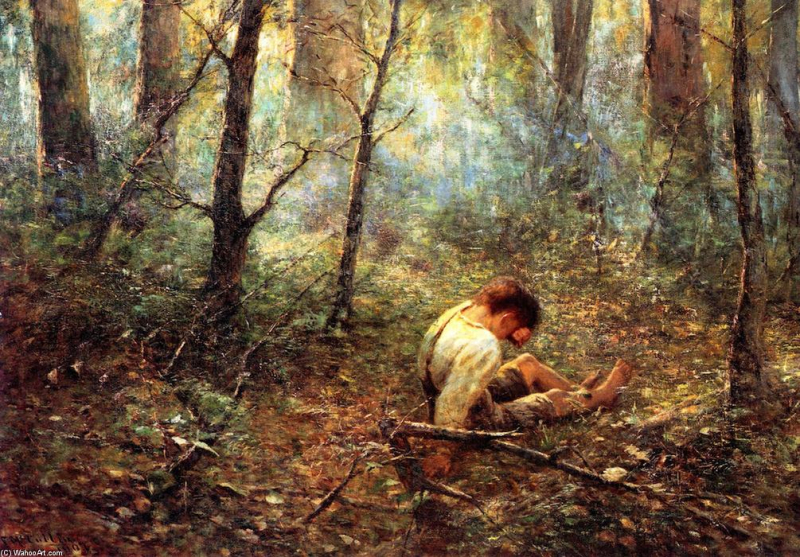 Praying for the lost frederick mccubbin 1855 1917